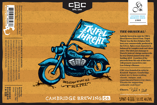 Cambridge Brewing Company Bottling Project